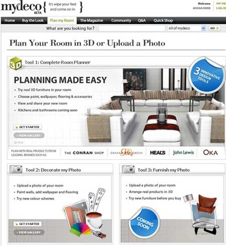 mydeco room planner dise a y planifica tu habitaci n en 3d noticiastech. Black Bedroom Furniture Sets. Home Design Ideas